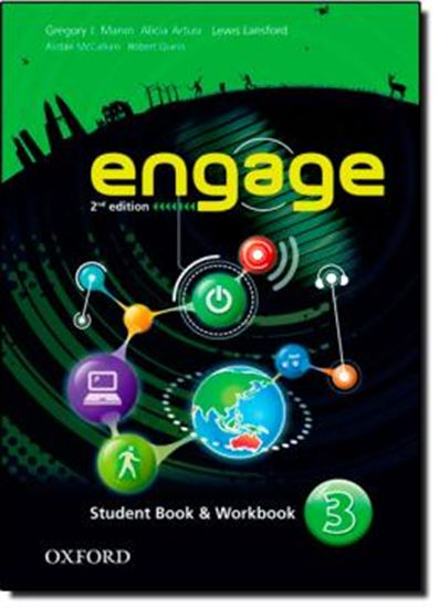 Picture of ENGAGE 3 - STUDENT BOOK AND WORKBOOK WITH MULTIROM - 2ND EDITION