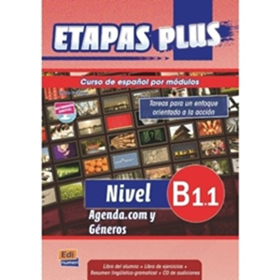 Picture of ETAPAS PLUS B1.1 - LIBRO DEL ALUMNO CON CD