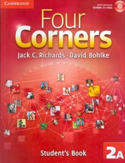 Picture of FOUR CORNERS LEVEL 2 STUDENT´S BOOK A WITH SELF-STUDY CD-ROM