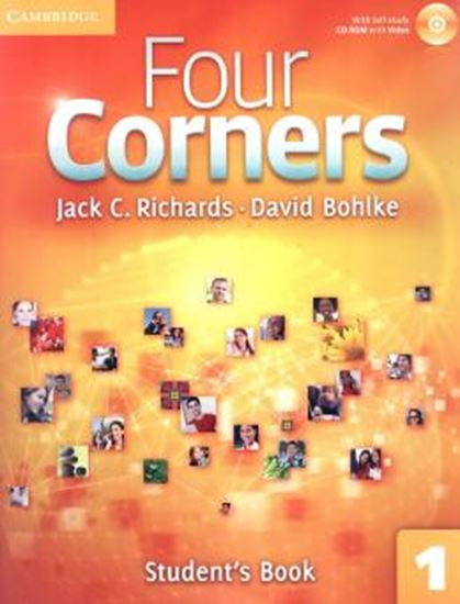Picture of FOUR CORNERS 1 STUDENTS BOOK WITH SELF-STUDY CD-ROM