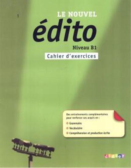 Picture of NOUVEL EDITO B1, LE  - CAHIER D´ENTRAINEMENT
