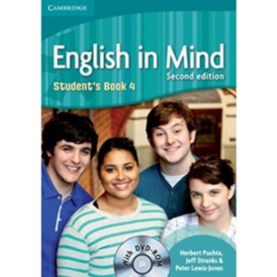 Picture of ENGLISH IN MIND 2ND EDITION LEVEL 4 STUDENTS BOOK WITH DVD-ROM