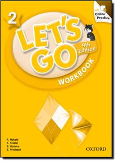 Picture of LETS GO 2 WORKBOOK WITH ONLINE PRACTICE PACK - FOURTH EDITION