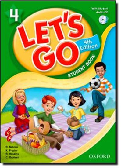 Picture of LETS GO 4 STUDENT BOOK WITH CD PACK - FOURTH EDITION