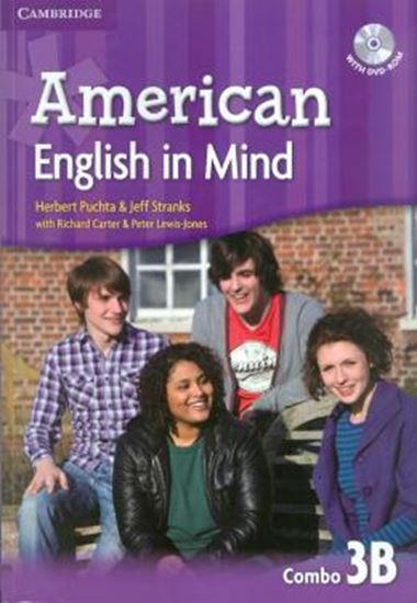 Picture of AMERICAN ENGLISH IN MIND 3B COMBO STUDENTS BOOK WITH DVD