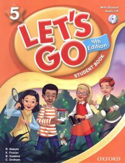 Picture of LETS GO 5 SB -  WITH CD - 4TH ED