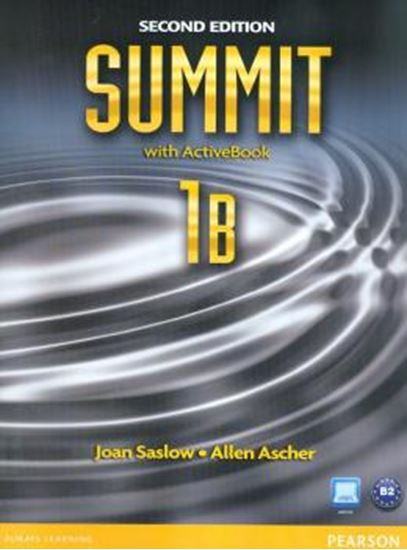 Picture of SUMMIT 1B STUDENT BOOK & WORKBOOK WITH ACTIVE BOOK  - SECOND EDITION