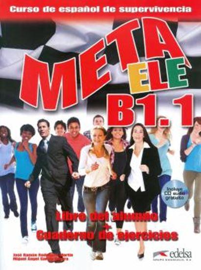 Picture of META ELE B1.1 LIBRO DEL ALUMNO + CUADERNO DE EJERCICIOS