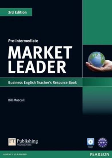 Picture of MARKET LEADER PRE-INTERMEDIATE TEACHERS RESOURCE BOOK (WITH TEST MASTER CD-ROM) - 3RD ED