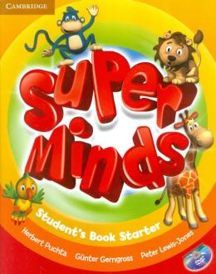 Picture of SUPER MINDS BRITISH STARTER SB WITH DVD-ROM
