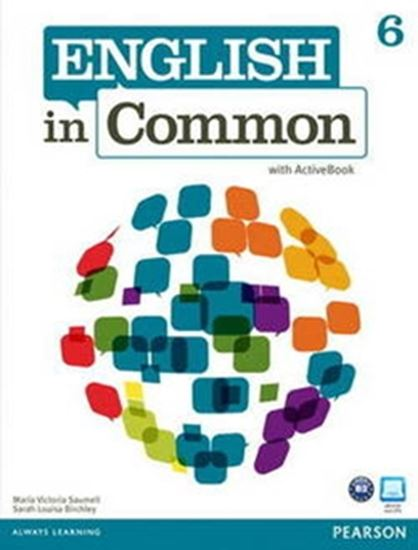 Picture of ENGLISH IN COMMON 6 SB W/ ACT BK CD-ROM