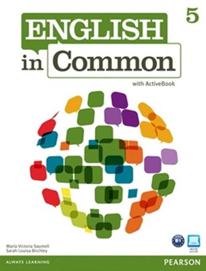Picture of ENGLISH IN COMMON 5 - STUDENT BOOK WITH ACTIVE BOOK