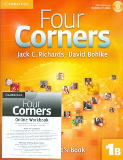 Picture of FOUR CORNERS 1 SB B W CDROM & ONLINE WB