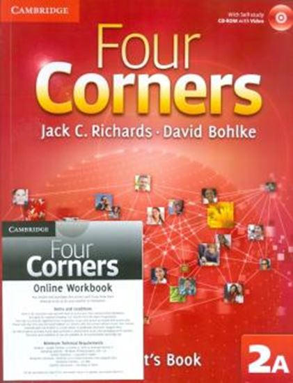 Picture of FOUR CORNERS 2A - STUDENTS BOOK WITH CD-ROM AND ONLINE WORKBOOK