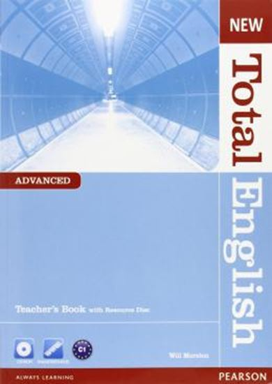 Picture of NEW TOTAL ENGLISH ADVANCED TEACHER S BOOK WITH CD-ROM