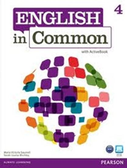 Picture of ENGLISH IN COMMON 4 - STUDENT BOOK WITH ACTIVE BOOK