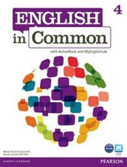 Picture of ENGLISH IN COMMON 4 - WITH ACTIVEBOOK AND MY ENGLISH LAB