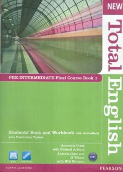 Picture of NEW TOTAL ENGLISH - PRE-INTERMEDIATE FLEXI COURSE BOOK 1