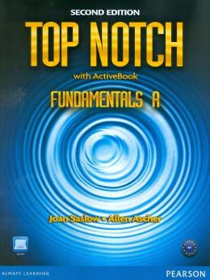 Picture of TOP NOTCH FUNDAMENTALS A - STUDENT BOOK - WORKBOOK WITH ACTIVE BOOK & MYLAB - 2ND EDITION