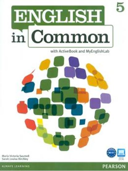 Picture of ENGLISH IN COMMON 5 SB W/ ACT BK CD-ROM & MY LAB