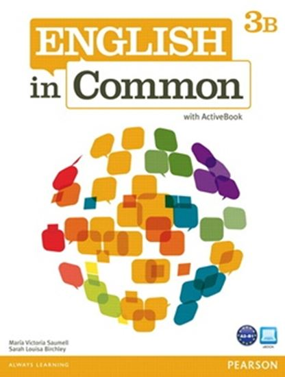 Picture of ENGLISH IN COMMON 3B SPLIT - STUDENT BOOK WITH ACTIVEBOOK AND WORKBOOK