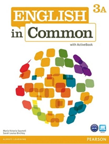 Picture of ENGLISH IN COMMON 3A SPLIT - STUDENT BOOK WITH ACTIVEBOOK AND WORKBOOK
