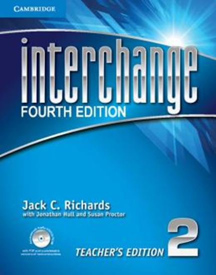 Picture of INTERCHANGE 2 TEACHERS BOOK WITH CD-ROM - FOURTH EDITION