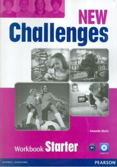 Picture of NEW CHALLENGES STARTER WORKBOOK & AUDIO CD PACK