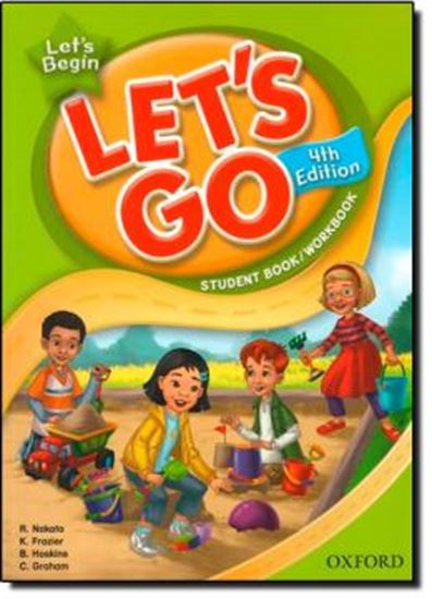 Picture of LETS GO BEGIN STUDENT BOOK AND WORKBOOK WITH MULTI-ROM PACK - FOURTH EDITION
