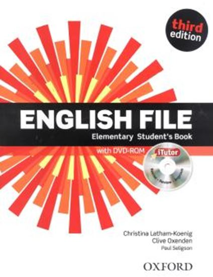 Picture of ENGLISH FILE ELEMENTARY SB WITH ITUTOR - 3RD ED
