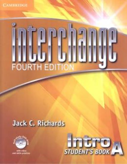Picture of INTERCHANGE INTRO STUDENTS BOOK A WITH SELF-STUDY DVD-ROM - FOURTH EDITION