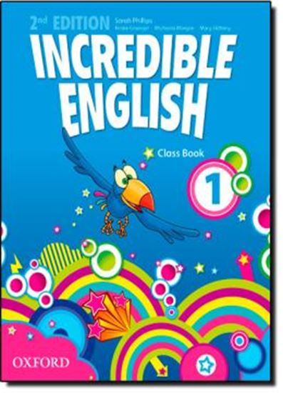 Picture of INCREDIBLE ENGLISH 1 CLASS BOOK - SECOND EDITION
