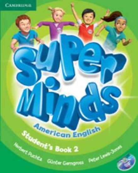 Picture of SUPER MINDS AMERICAN ENGLISH 2 - STUDENT´S BOOK WITH DVD-ROM