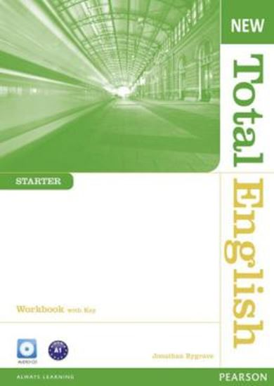 Picture of NEW TOTAL ENGLISH STARTER WORKBOOK (WITH KEY) AND AUDIO CD - 2ND EDITION