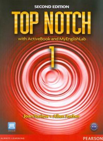 Picture of TOP NOTCH 1 - STUDENT BOOK WITH ACTIVE BOOK AND CD-ROM MYLAB - SECOND EDITION