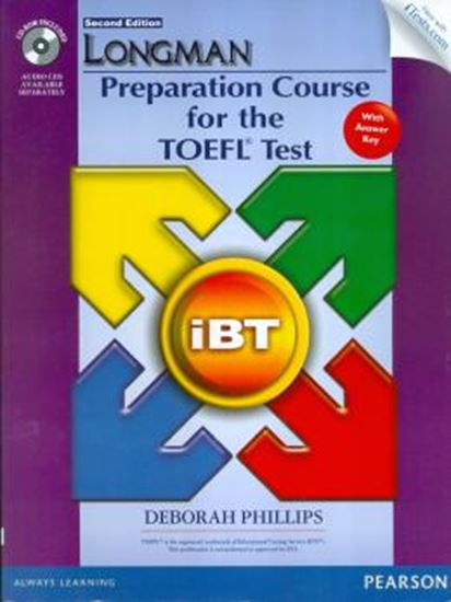 Picture of LONGMAN PREPARATION COURSE FOR TOEFL TEST SB WITH KEY,  ITEST AND CD-ROM - 2ND ED