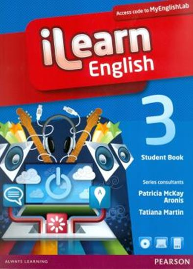 Picture of ILEARN ENGLISH 3 STUDENT BOOK WITH MYENGLISHLAB PACK