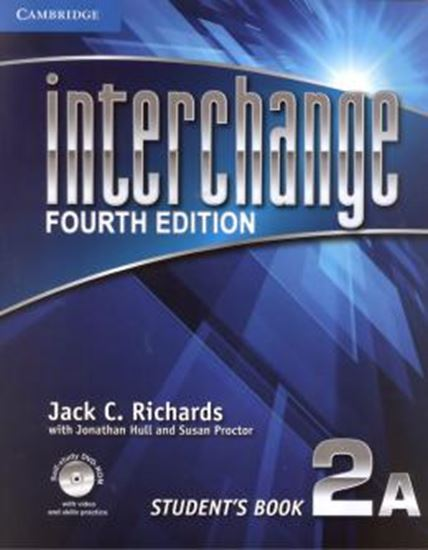 Picture of INTERCHANGE 2 STUDENTS BOOK A WITH SELF-STUDY DVD-ROM – FOURTH EDITION