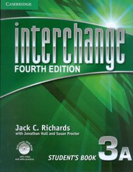 Picture of INTERCHANGE 3 STUDENTS BOOK A WITH SELF-STUDY DVD-ROM - FOURTH EDITION
