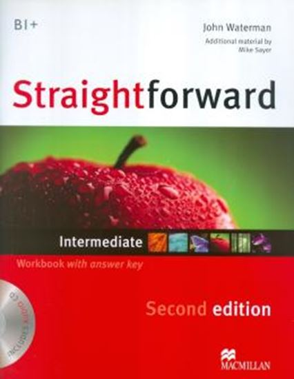 Picture of STRAIGHTFORWARD INTERMEDIATE WORKBOOK WITH CD (WITH KEY) - 2ND ED