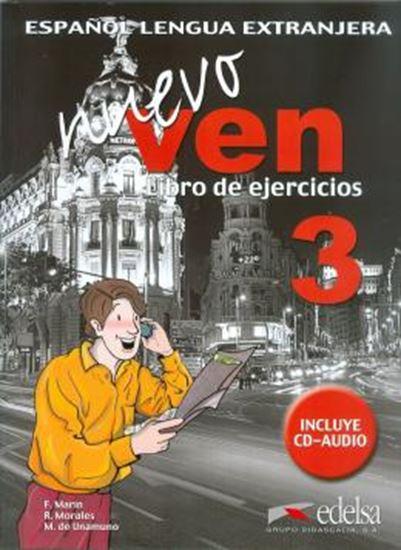 Picture of NUEVO VEN 3 LIBRO DE EJERCICIOS + CD AUDIO