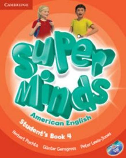 Picture of SUPER MINDS AMERICAN ENGLISH 4 STUDENTS BOOK WITH DVD-ROM