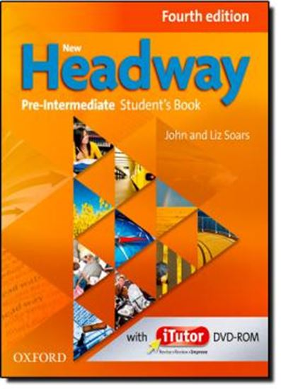 Picture of NEW HEADWAY PRE-INTERMEDIATE STUDENTS BOOK AND ITUTOR PACK - FOURTH EDITION