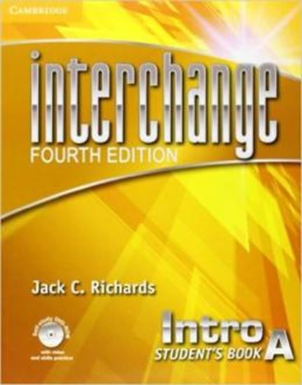 Picture of INTERCHANGE INTRO STUDENTS BOOK A WITH SELF-STUDY DVD-ROM AND ONLINE WORKBOOK A PACK - FOURTH EDITION