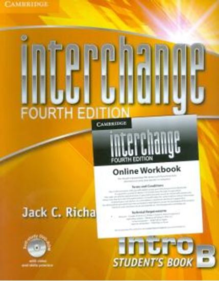 Picture of INTERCHANGE INTRO STUDENTS BOOK SELF-STUDY DVD-ROM AND ONLINE WORKBOOK B PACK - FOURTH EDITION