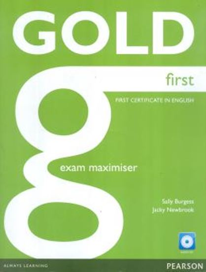 Picture of GOLD FIRST EXAM MAXIMISER (NO KEY) AND AUDIO CD
