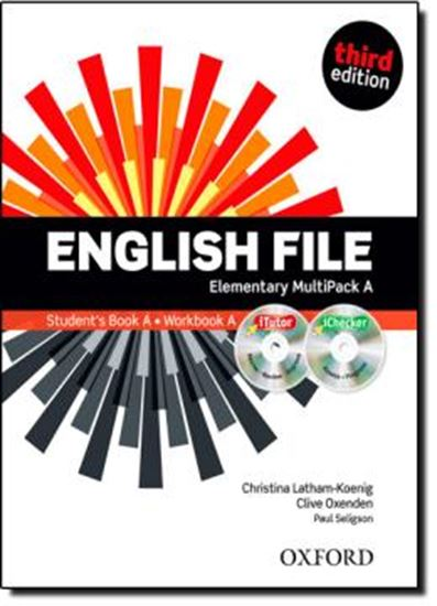Picture of ENGLISH FILE ELEMENTARY MULTIPACK A - THIRD EDITION