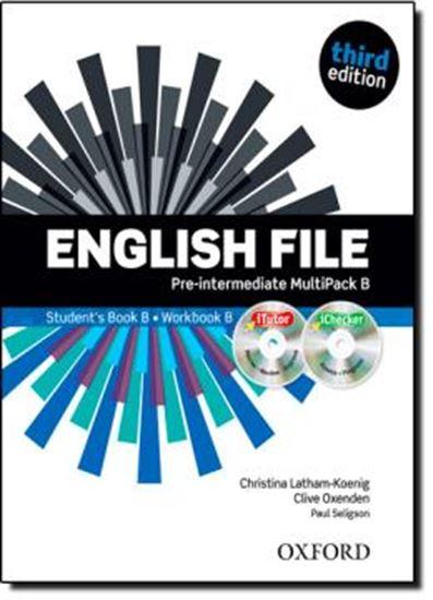 Picture of ENGLISH FILE PRE-INTERMEDIATE B - THIRD EDITION