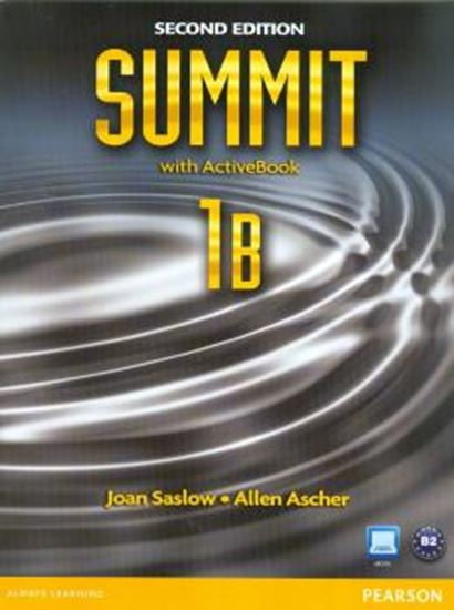 Picture of SUMMIT 1B STUDENT BOOK & WORKBOOK SPLIT WITH ACTIVE BOOK & MYENGLISHLAB - SECOND EDITION