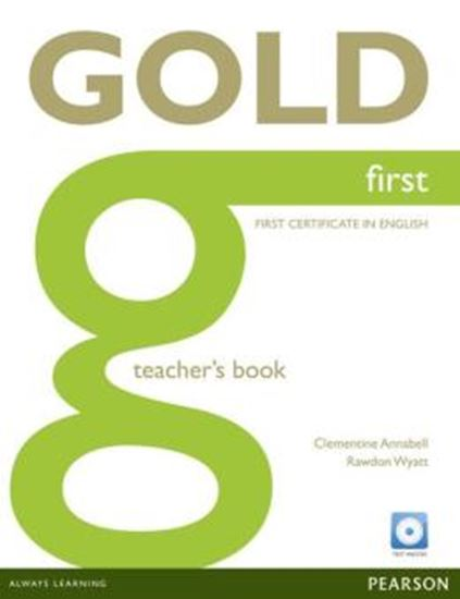 Picture of NEW GOLD FIRST TEACHERS BOOK (WITH TEST MASTER CD-ROM